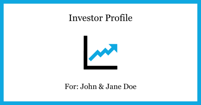 SLF Investment Risk Questionnaire Investor Profile